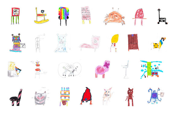 Little Kids Drawings Made By 570 x 380