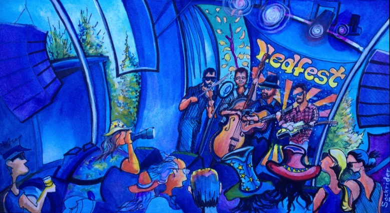 Tour Paintings by David Sockrider