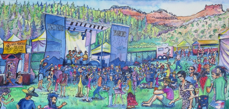 Tour Paintings by David Sockrider CMC-Yarmony1000w