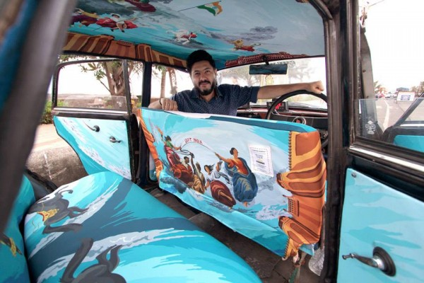 Art Is Moving On Wheels