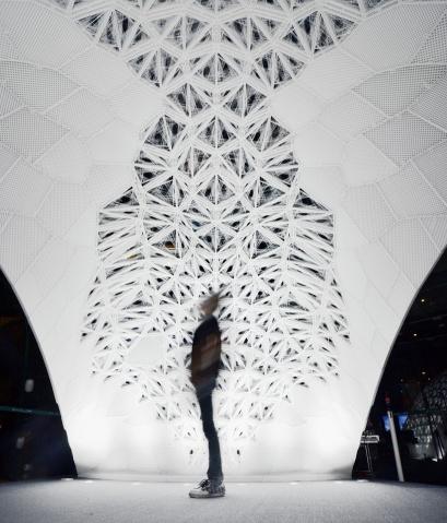 VULCAN-largest-3D-printed-architectural-pavilion-BJDW-beijing-design-week-designboom-05