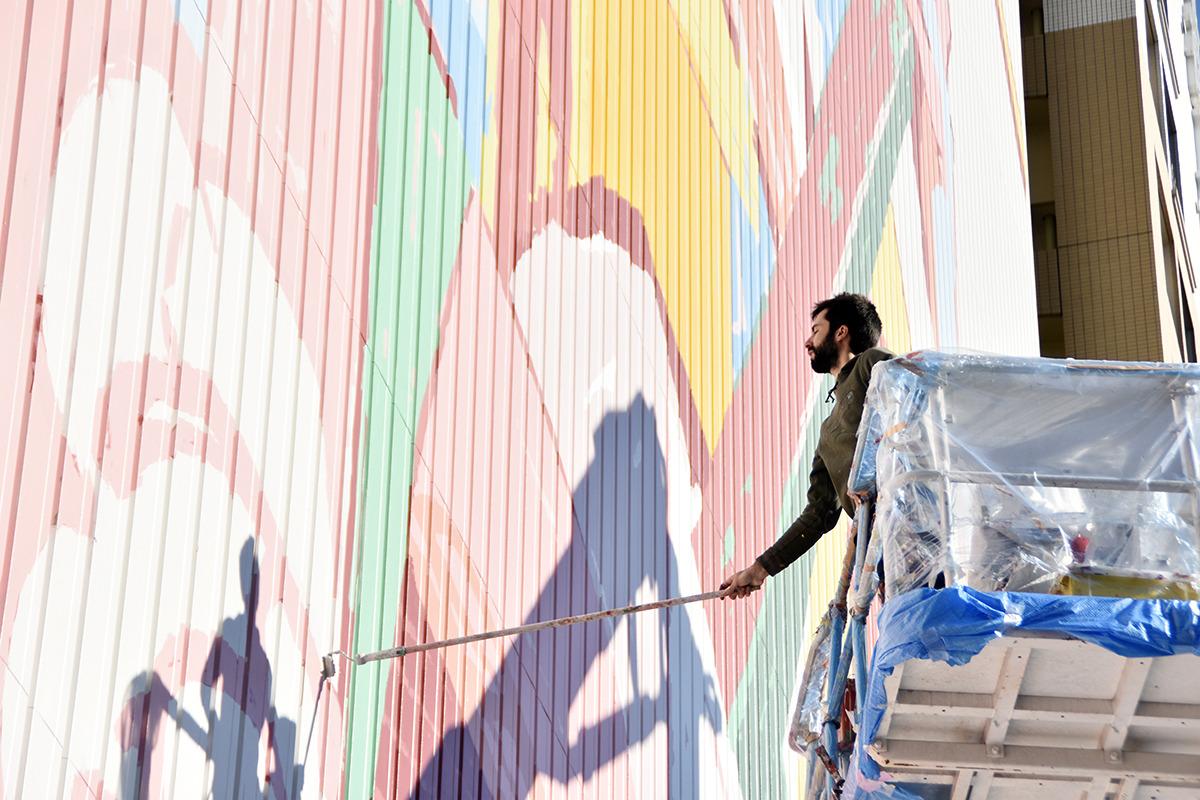 Amazing Large Scale Figurative Murals ByAryz